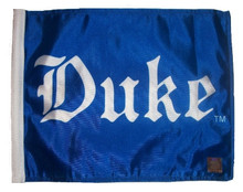 Duke (Text) 11in x 15in Golf Cart or Car Flag by SSP