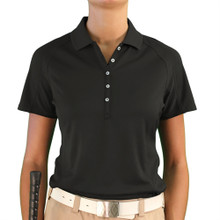 Golf Knickers Ladies Microfiber Solid Polo Golf Shirt