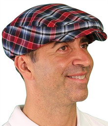 Golf Knickers Men's 'Par 5' Limited Plaid Golf Cap