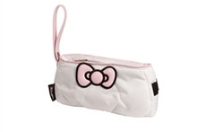 Hello Kitty Diva Collection Bow Pouch - White