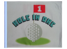 "Golf Cart Flags - HOLE IN ONE 11""x15"" Replacement Flag"