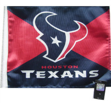 NFL Houston Texans 11in x 15in Golf Cart or Car Flag