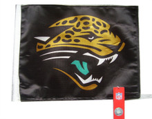 NFL Jackson Jaguars 11in x 15in Golf Cart or Car Flag