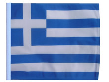 "Golf Cart Flags - GREECE 11""x15"" Replacement Flag"