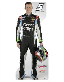 Lifesize Cardboard Cutout - Kasey Kahne Great Clips 2013