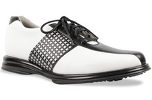 Sandbaggers Women's Golf Shoes: Krystal Black Lace