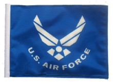 "Golf Cart Flags - Licensed Air Force 6""x9"" Replacement Flag"