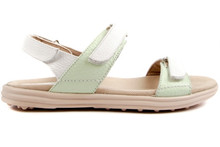 Sandbaggers Women's Golf Sandals: Lola Mint