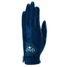 Glove It Golf Lycra Glove Solid Collection -  Navy Clear Dot