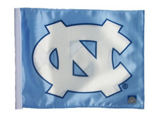 North Carolina Tar Heels 11in x 15in Golf Cart or Car Flag