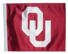 Oklahoma Sooners 11in x 15in Golf Cart or Car Flag