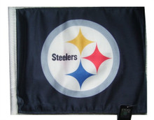 NFL Pittsburgh Steelers 11in x 15in Golf Cart or Car Flag