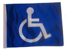 "Golf Cart Flags - HANDICAP 6""x9"" Replacement Flag"