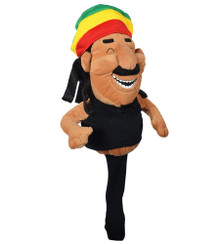 Rasta Man Golf Club Headcover by Creative Covers