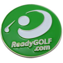 ReadyGOLF Logoed Golf Ball Marker & Hat Clip