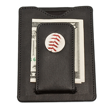 Boston Red Sox MLB Game Played Baseball Money Clip Leather Wallet by Tokens and Icons
