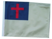 "Golf Cart Flags - CHRISTIAN 6"" x 9"" Replacement Flag"