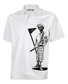 Tattoo Golf Mens Polo Shirt - Mr. Bones
