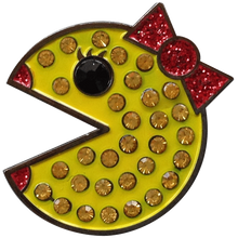 ReadyGolf - Ms. Pac-Man Ball Marker with Crystals