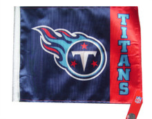 NFL Tennessee Titans 11in x 15in Golf Cart or Car Flag