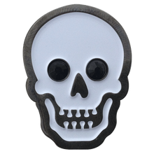ReadyGolf - Skull Ball Marker & Hat Clip with Crystals