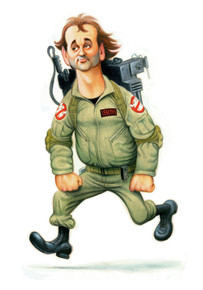"David O'Keefe: Tribute to Peter Venkman 12""x16"""