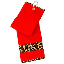 Glove It Golf Bag Towel Print Collection - Leopard
