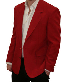 Jacket-Masters Collection - Red Blazer Jacket