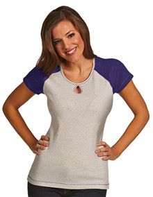 Antigua Women's Essentials - Crush 100796 (Purple/Grey) Large - SALE