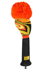 Just 4 Golf - Loudmouth Shagadelic Black Driver Headcover