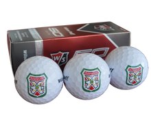 Caddyshack - Bushwood Logoed Golf Balls (3 Ball Sleeve) - White