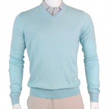 Fairway & Greene Men's McCallan Blend Solid V-Neck Sweater