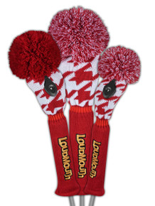 Loudmouth Red Tooth Headcover Set