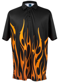 ReadyGOLF Mens Golf Polo Shirt - I'm On Fire - PRE-ORDER