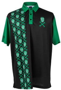 ReadyGOLF Mens Golf Polo Shirt - Irish to the Bone - PRE-ORDER