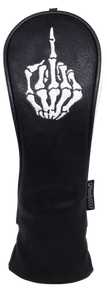 ReadyGolf Hybrid Headcover -Skeleton Bone Middle Finger