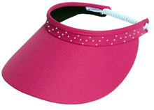 Glove It Golf Visors - Bling Collection - Pink Bling Coil
