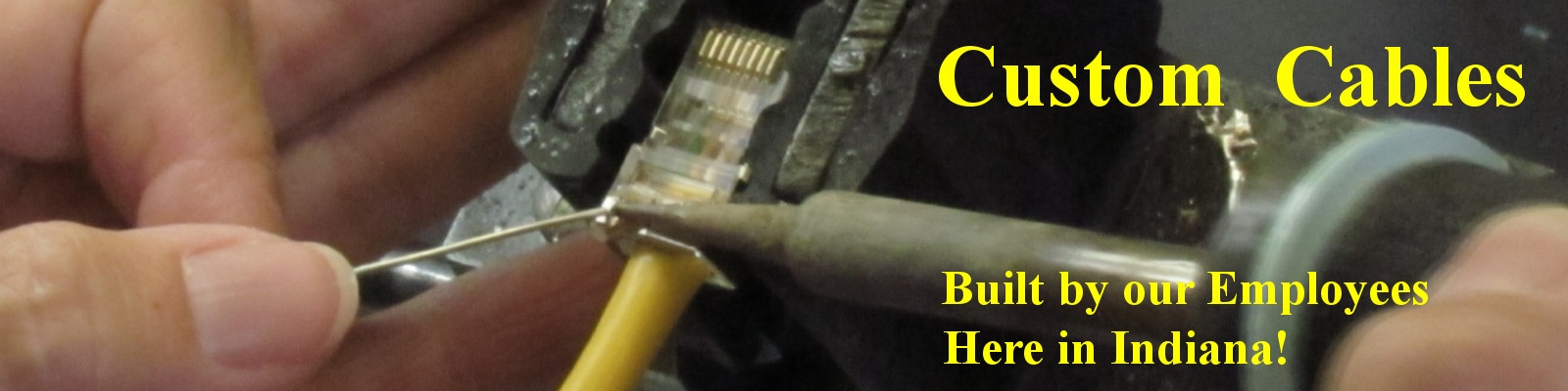 Did you know that we build Custom Cables every day?