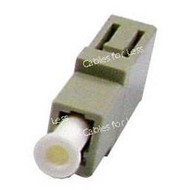 Fiber Coupler, Multimode Simplex, LC/LC, Female To Female
