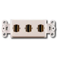 PowerBridge Decora Insert, Triple HDMI