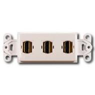 PowerBridge Decora Insert, Triple HDMI