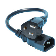 1 Foot Monitor Power Cable