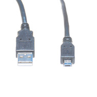 10 Foot USB 2.0 Cable, A Male To Micro B Male