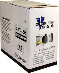 Bulk Yellow Cat5 STP Solid