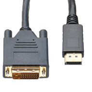 15 Foot DisplayPort To DVI-D Cable