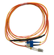 3 Meter LC- 62.5/125 MM/SC- SM Mode Conditioning Fiber Optic Patch Cable (SC Equip / LC Plant)