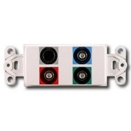 PowerBridge Decora Insert, Component Video + S-Video