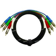 Super High Quality 15 Foot Custom, RGB Component Video Cable