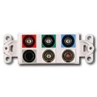 PowerBridge Decora Insert, Component Video + S-Video + Stereo Audio