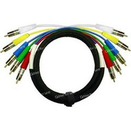 Super High Quality 5 Foot Custom, RGBHV Component Video Cable